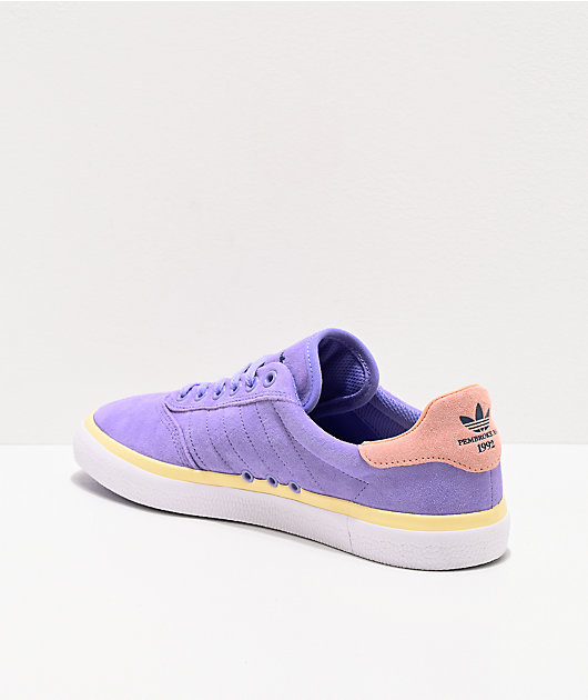 adidas 3MC Nora Sun zapatos morados y rosas