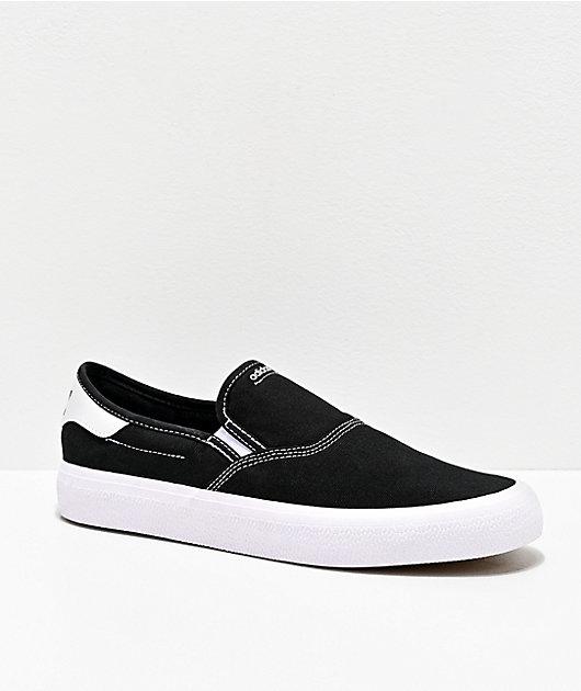 adidas 3MC Slip-On Black & Gold Shoes