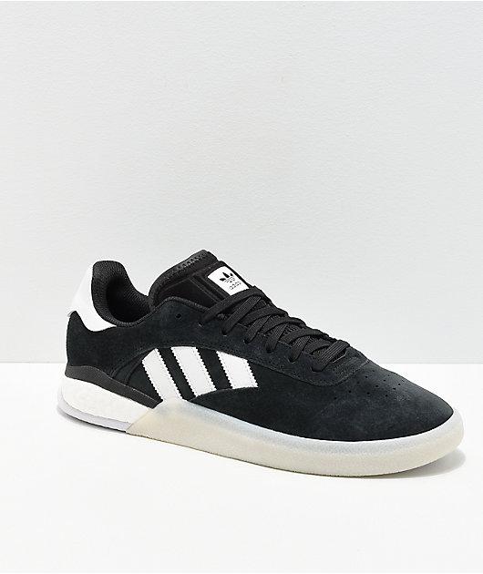 adidas 3ST.004 Black \u0026 White Shoes | Zumiez