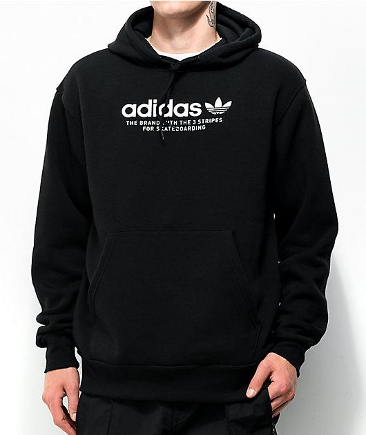 adidas 4.0 Logo Black Hoodie