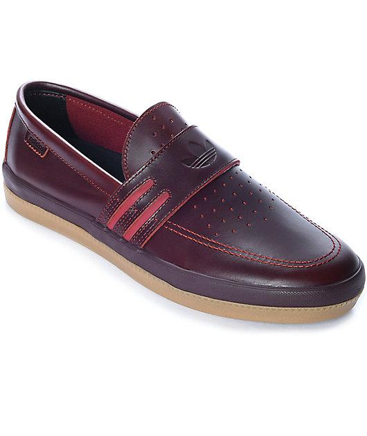 adidas Acapulco LTD Red Slip-On Shoes