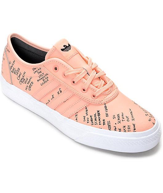 adidas AdiEase Gonz Pink Shoes | Zumiez