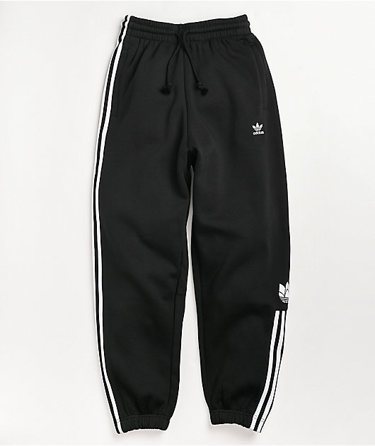 adidas Adicolor 3D Trefoil Black Sweatpants