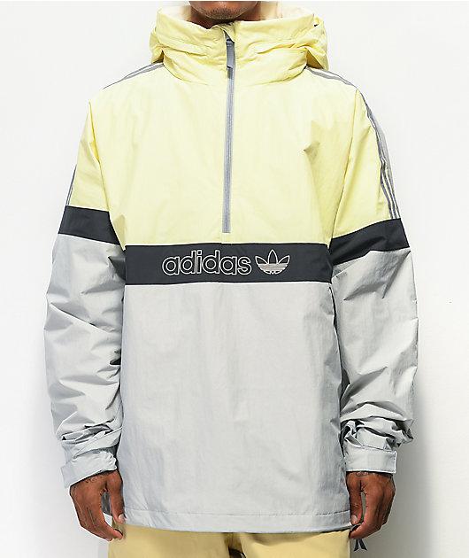 adidas BB Snowbreaker Haze 10K chaqueta de snowboard amarilla