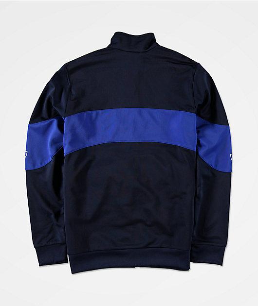 adidas Bandrix chaqueta de chándal azul para niños