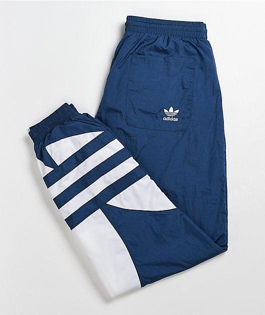 adidas Big Trefoil Navy Track Pants