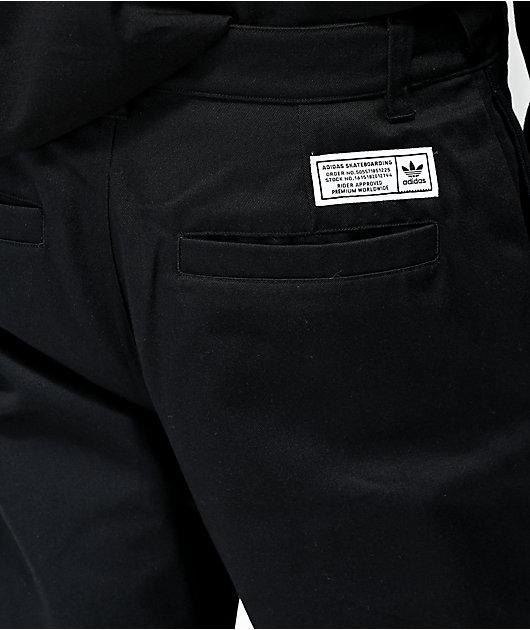 adidas Black Chino Pants