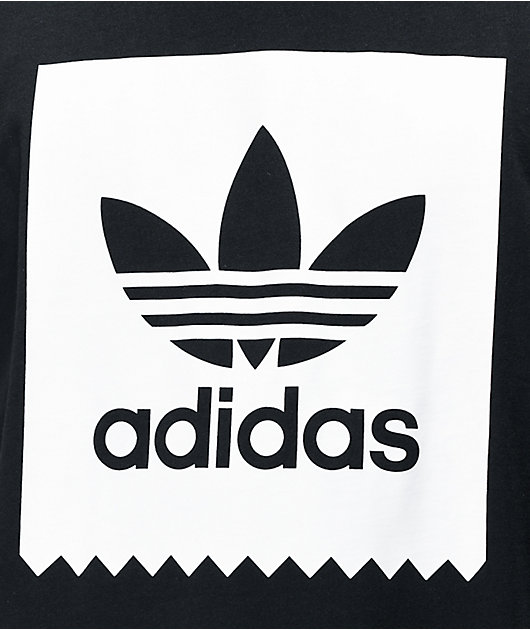 adidas Blackbird Black & White T-Shirt
