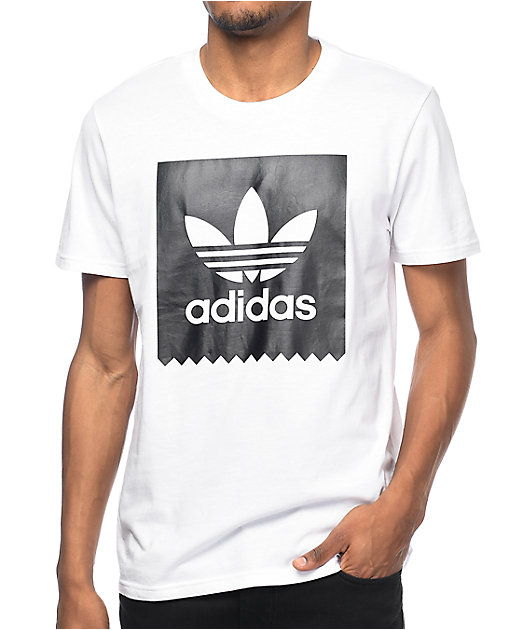 adidas Blackbird Logo White T-Shirt