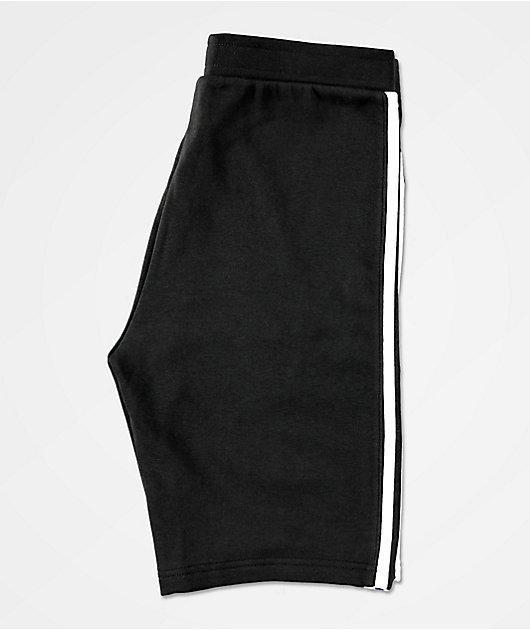 adidas Boys New Icon Black Sweat Shorts