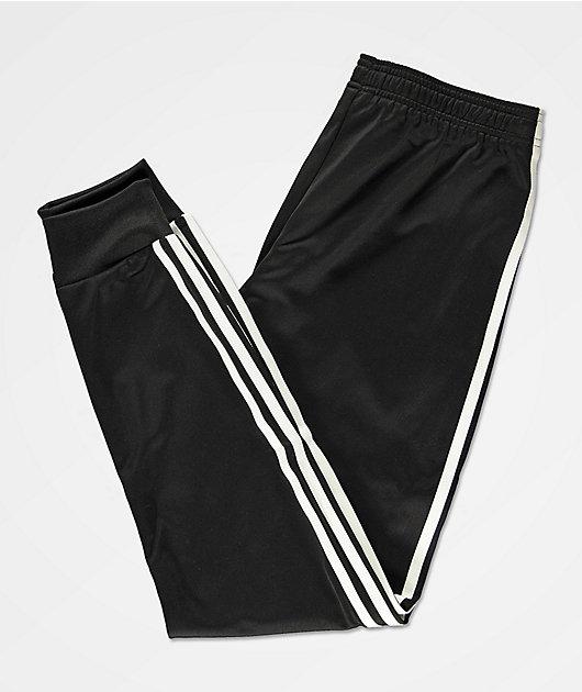 adidas Boys Superstar Black Sweatpants