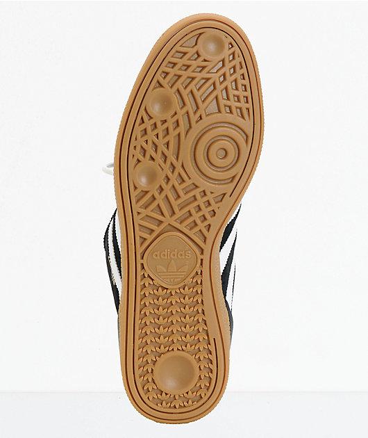 adidas Busenitz Black, White, & Gum Shoes