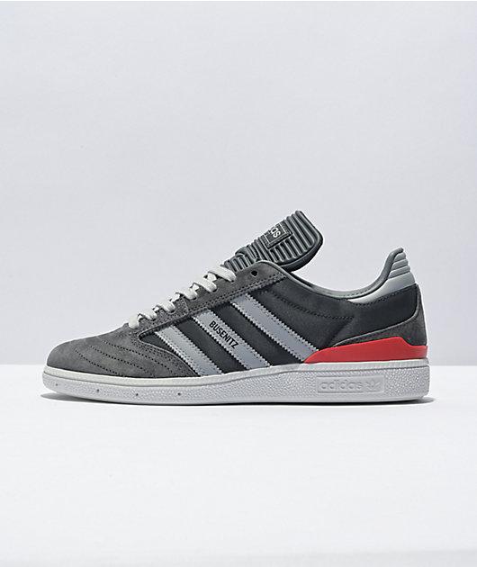 adidas Busenitz Granite, Clear Onix, & Grey Skate Shoes
