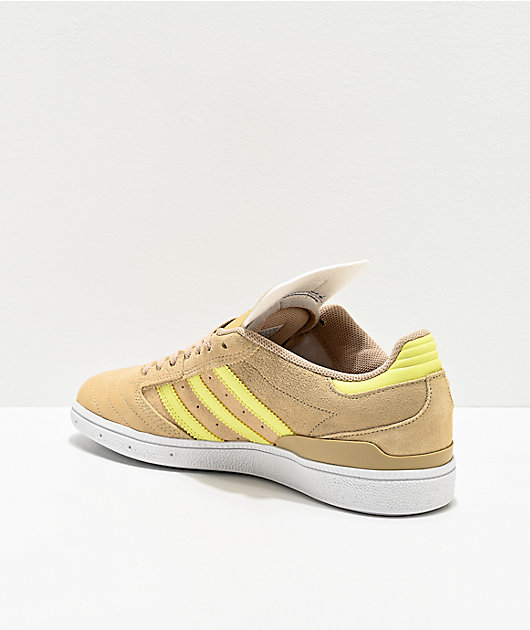 adidas Busenitz Pro Savanna & Yellow Shoes