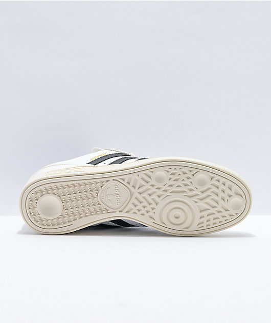 adidas Busenitz Pro White & Black Shoes