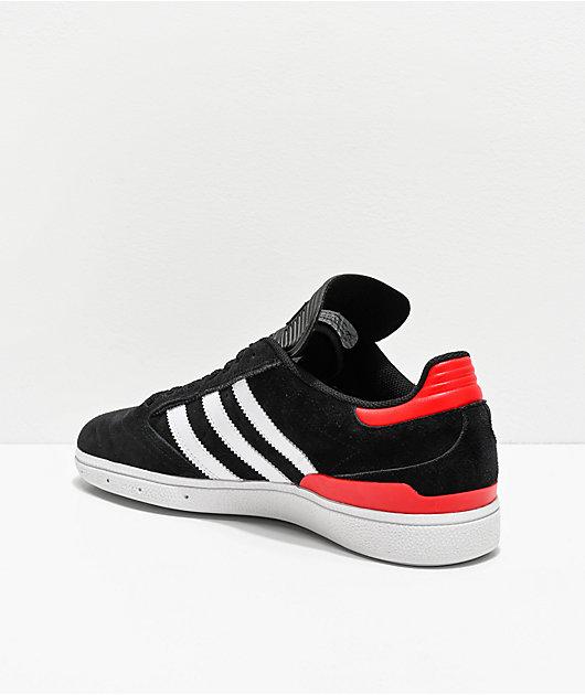 adidas Busenitz Pro zapatos negros, blancos, rojos y azules