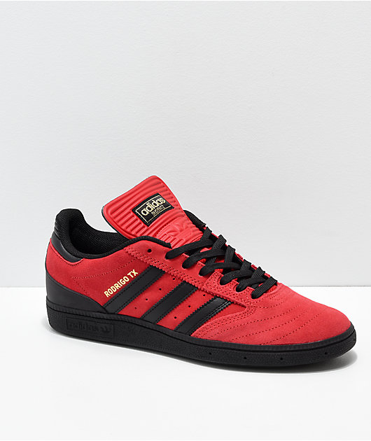 adidas shoes red black