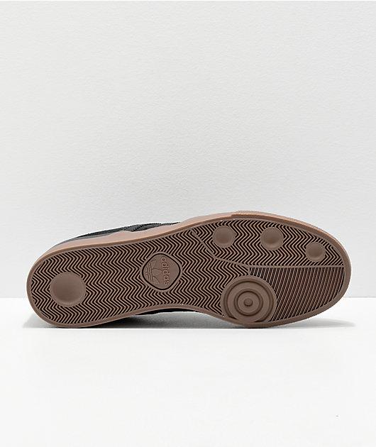 adidas Busenitz Vulc Grey, Black & Gum Shoes