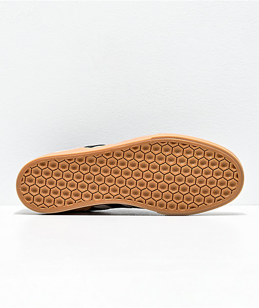 adidas Busenitz Vulc II White, Black & Gum Shoes