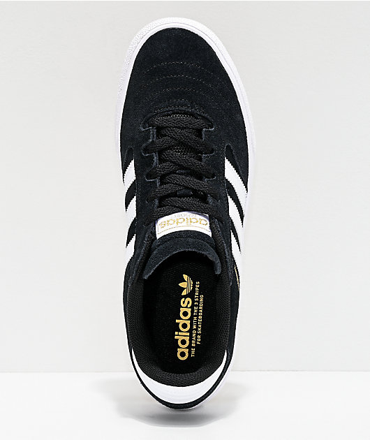 adidas Busenitz Vulc II zapatos en negro, blanco y goma