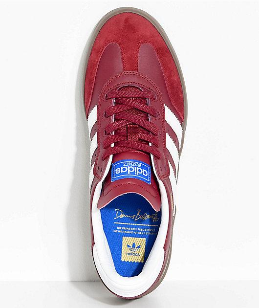 adidas Busenitz Vulc Samba RX Burgundy