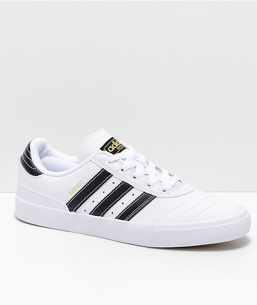 adidas Busenitz Vulc White, Black