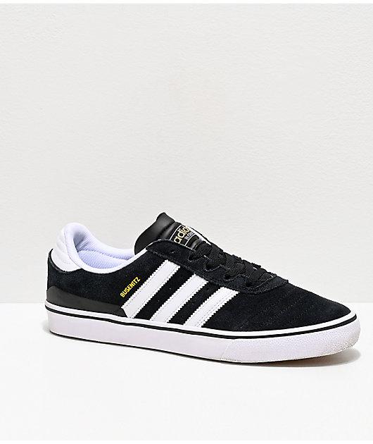 adidas Busenitz Vulc zapatos de skate en blanco y negro