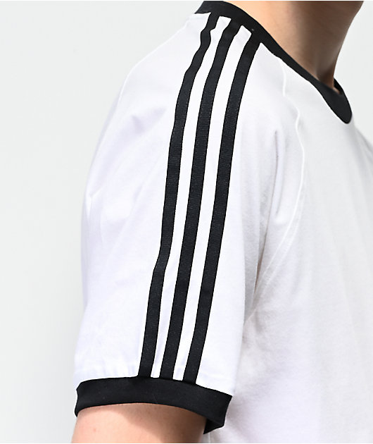 adidas California Blackbird White T-Shirt