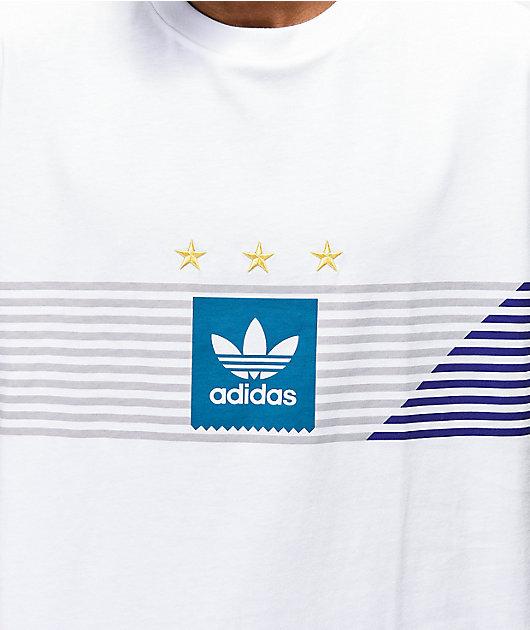 adidas Campeonato camiseta blanca