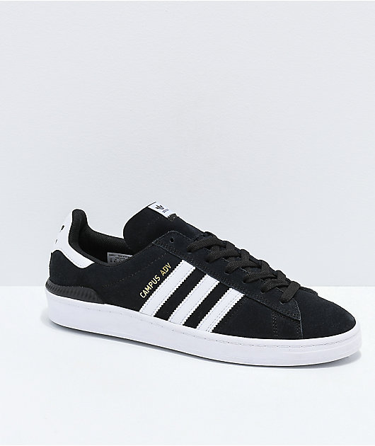 adidas Campus ADV Black & White Shoes