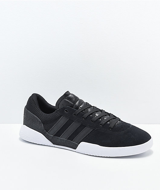 adidas City Cup Black \u0026 White Shoes