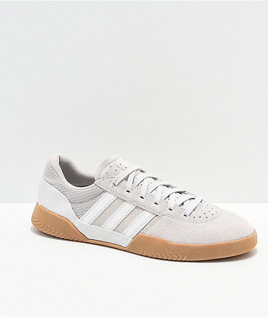 adidas City Cup White Chalk \u0026 Gum Shoes