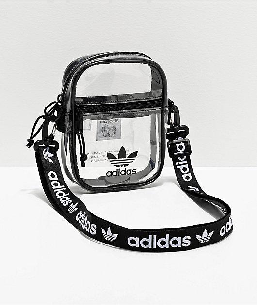 adidas Clear & Black Shoulder Bag