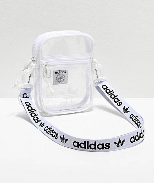 adidas Clear & White Shoulder Bag