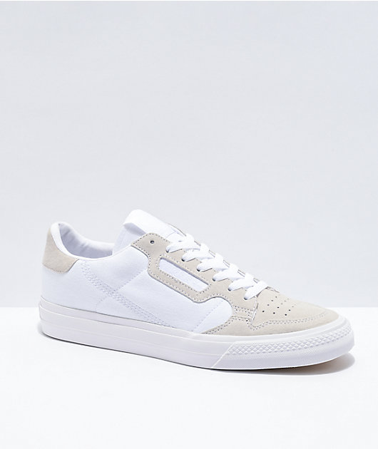 adidas Continental Vulc White Shoes