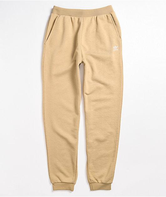 adidas Cuffed Khaki Jogger Sweatpants