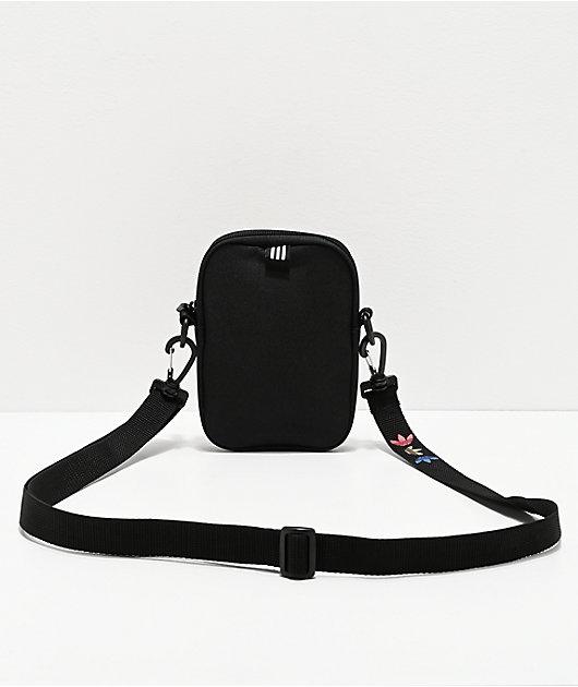 adidas Festival Spacetech Black & Gold Shoulder Bag