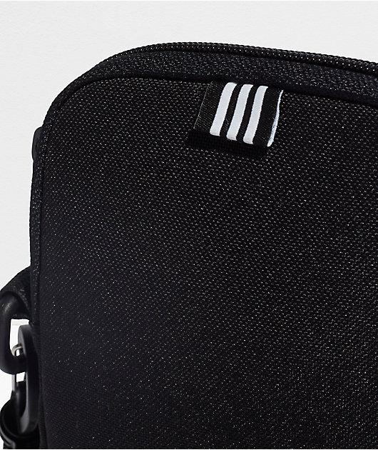 adidas Festival Trefoil Black & White Shoulder Bag