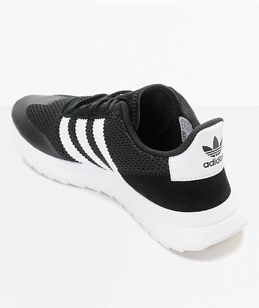 adidas Flashback Black & White Womens Shoes