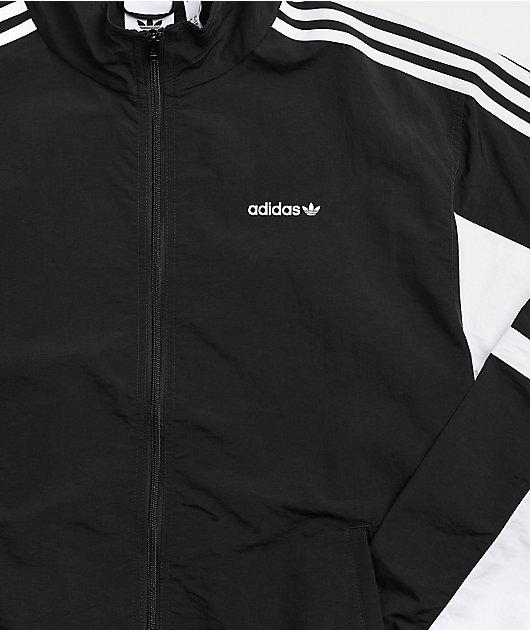 adidas Globe Black & White Track Jacket