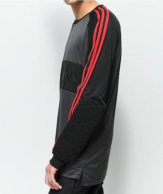 adidas Goalie Black Long Sleeve Jersey
