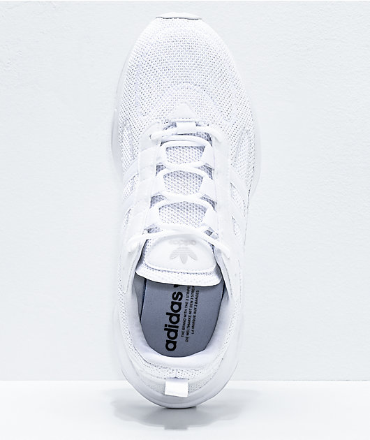adidas Haiwee All White Shoes