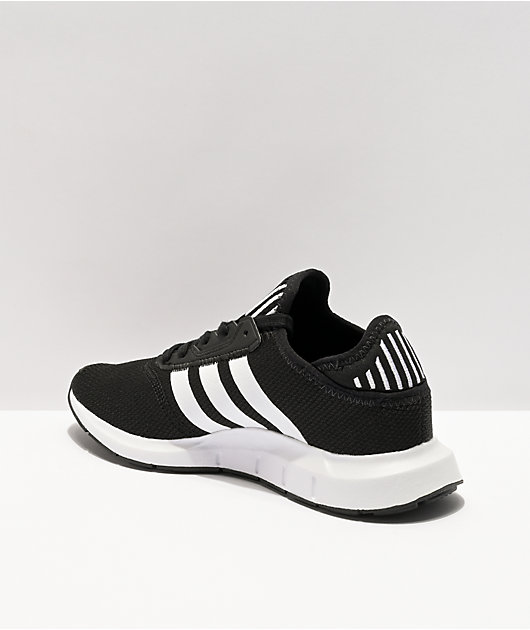 adidas Kids Swift Run X Black & White Shoes