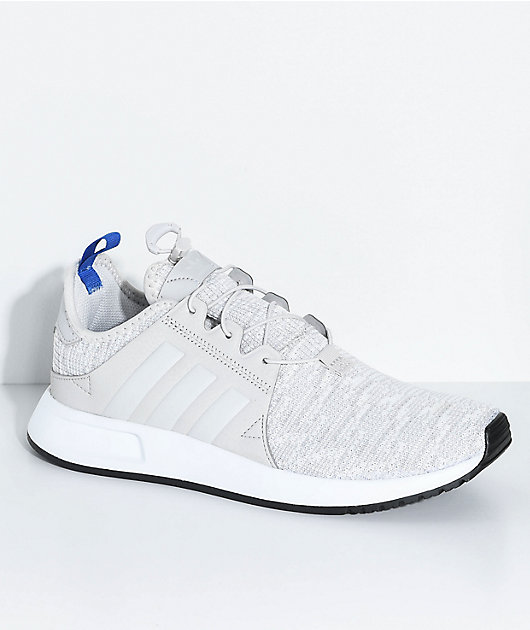 adidas Kids Xplorer Grey, Blue \u0026 White