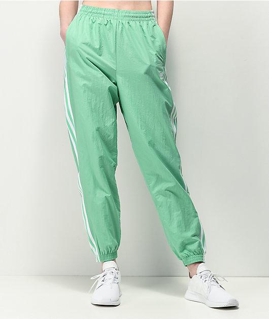 adidas Lock Up Mint Nylon Track Pants