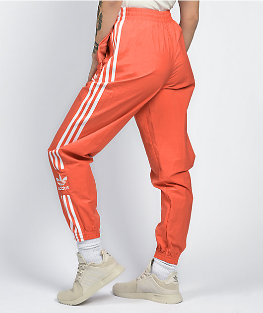 adidas Lock Up Scarlet Nylon Track Pants