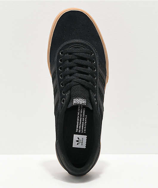 adidas Lucas Premiere ADV Black, White & Gum Shoes