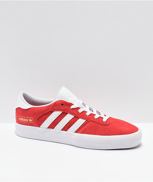 adidas Matchbreak Super Red & White Shoes