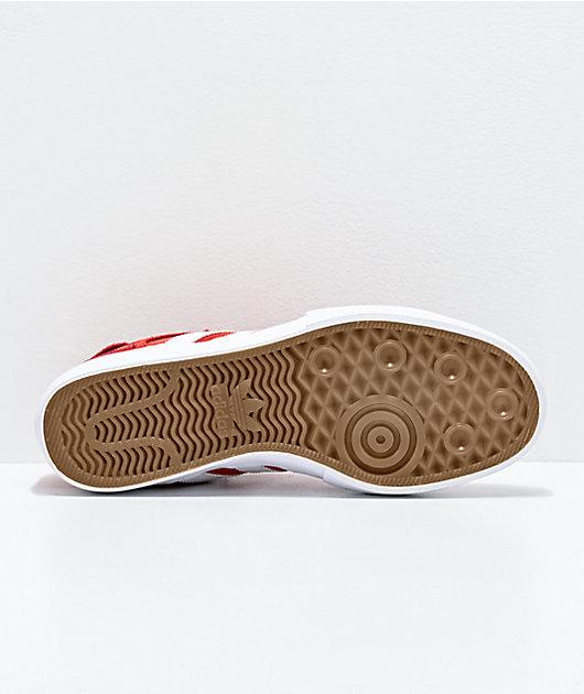 adidas Matchbreak Super zapatos en rojo, blanco y dorado