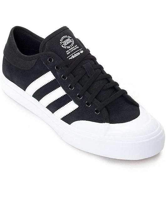 Surrey Ahorro perecer  adidas Matchcourt ADV Black & White Suede Shoes | Zumiez